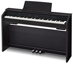 Digital Console Piano available in black, brown o