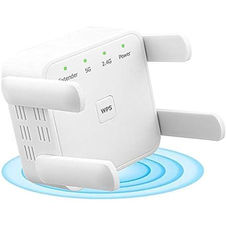 Extensor de rango WiFi XVZ,repetidor de refuerzo WiFi de 1200 ...