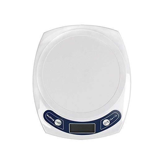 NC Báscula de Cocina, báscula Digital para Alimentos con Capacidad de Alta precisión, báscula de medición multifunción Digital -7kg1g