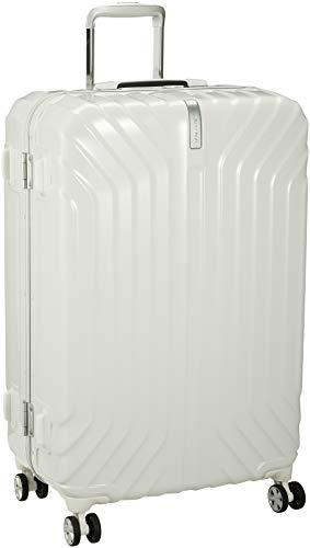 [サムソナイト] スーツケース キャリーケーストゥルーフレーム スピナー76 マットグラファイト 保証付 85L 76 cm 5kg パールホワイト