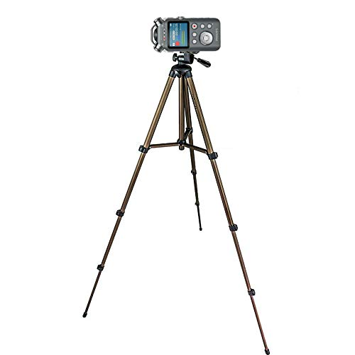 TronicXL Profi TRIPOD 21 Alu Stativ Diktiergerät Audiorekorder Aufnahmegerät 1/4 Zoll zb kompatibel für Roland Philips Tascam Sony Olympus Zoom H4n Pro H5 H6 mobile Recorder H2n Halterung