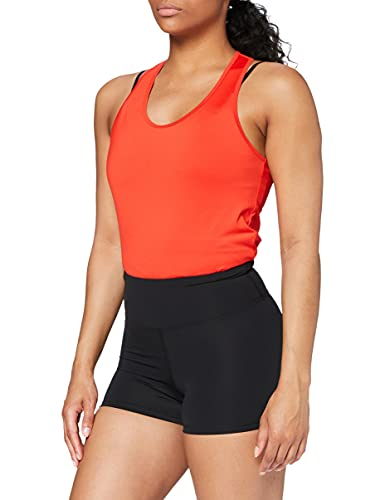Marca Amazon - AURIQUE Shorts de Deporte Mujer, Negro (Black), 40, Label:M