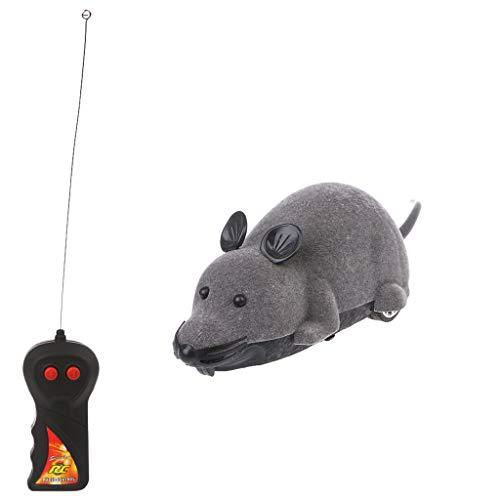 tandou Katzen Interaktive Spielzeuge Elektrische Simulation Maus Fernbedienung 4Trick Geschenke