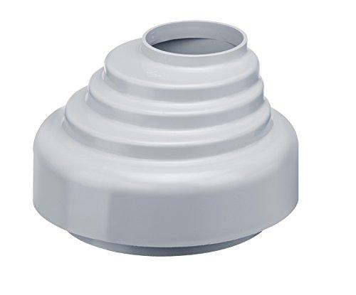 INEFA Übergangsstück Fallrohr zu Abfluss, Kunststoff, Grau DN 50/100