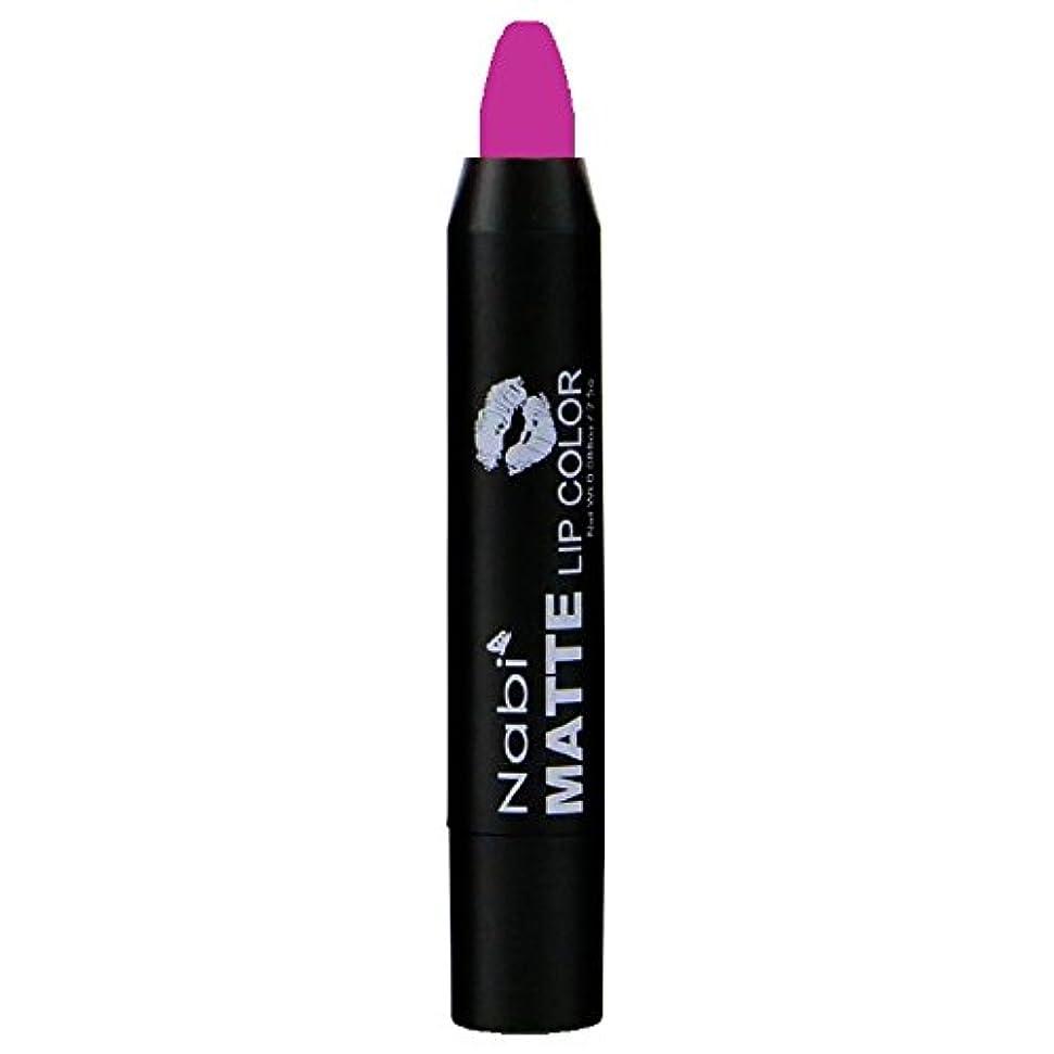証明アーサーコナンドイルピカソNabi Cosmetics Matte Lip Color - Matte Hot Pink (並行輸入品)