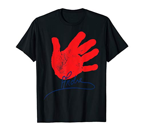 WWE Andre the Giant 'Handprint Signature' Graphic T-Shirt