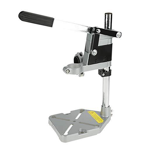 Taladro de sobremesa, soporte de aluminio, diámetro 38-43 mm para taladro de banco de trabajo, taladro de mano mecánico(Double hole)