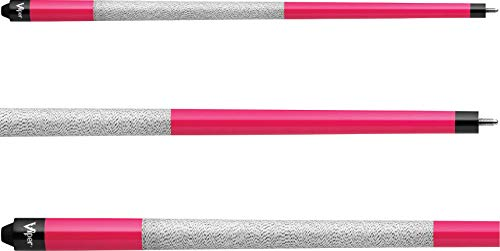 "Viper Signature 57"" 2-Piece Billiard/Pool Cue, Hot Pink"
