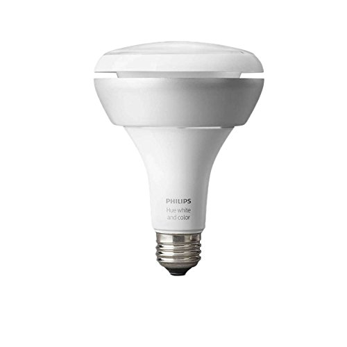 Philips Hue White and Color Ambiance Single Bulb (BR30)