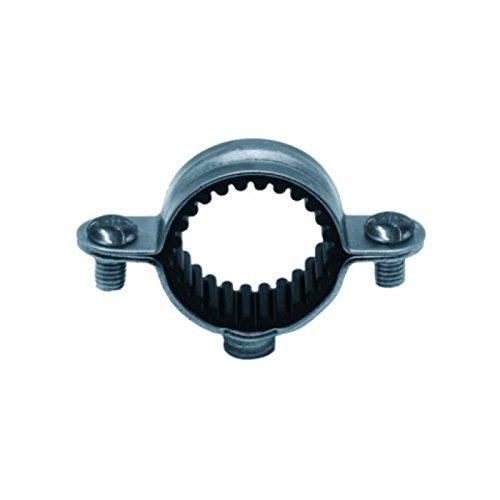 Plombelec - Colliers Isophoniques Crantés Collés Simples - Diamètre : 18 - La Boîte de 100