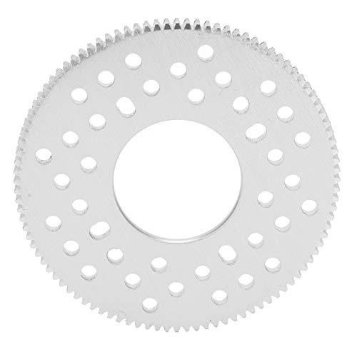FOLOSAFENAR Engranaje de Dientes Rectos de 100 Dientes Que Ahorra Peso Engranaje de Dientes Rectos cilíndricos Versatilidad 32 mm / 1.3 Pulgadas para piñón de 20 Dientes para Engranaje servo
