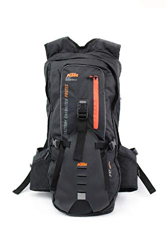 KTM 2 in 1 Rucksack (multifunktionell) mit Protektor - Factory Character -