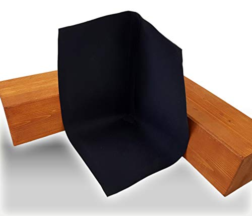 Hertalan EPDM-Formteile (Innenecke 90°, 100 x 100 x 100 mm)
