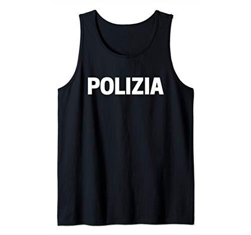 Uniforme della Polizia Di Stato Italiana Costume Regalo Canotta