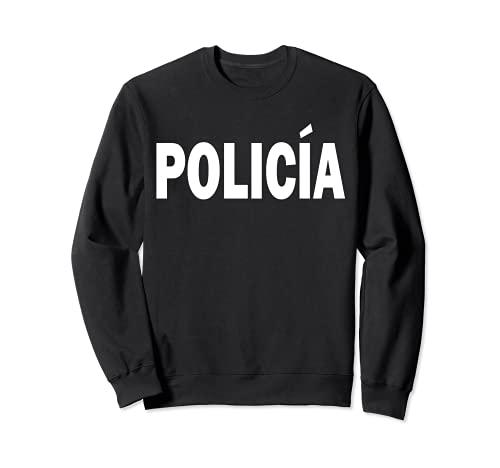 Disfraz de polica para oficial de polica de Halloween Sudadera
