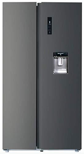 CHiQ FSS559NEI42D réfrigérateur congélateur american, 559L, compresseur inverseur, froid ventilé, total no frost, noir acier...