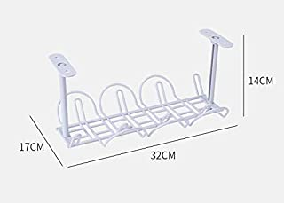 Under Desk Cable Management Tray Cable Organizer for Wire Management. plastical Wire Cable Tray for Office and Home
