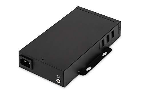 DIGITUS PoE++ Injektor - IEEE802.3at - Gigabit Ethernet - 95 Watt - max. 55 Volt - PoE Modus A & Modus B