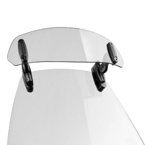 Puig spoiler per parabrezza Clip-On trasparente per BMW K 75 S, K1, R 100 GS/PD, R 1100 GS/R/RS/RT/S