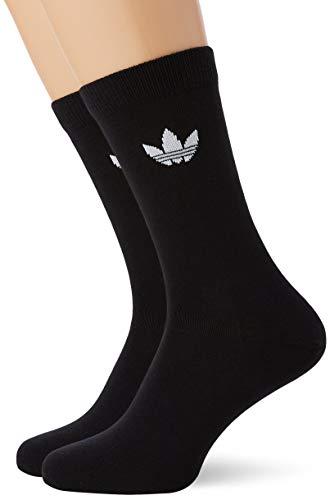 adidas Thin Tref Crew Socken Unisex Erwachsene L schwarz / weiß