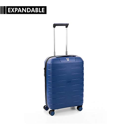 RONCATO Box 4.0 trolley cabina rigido espandibile tsa Blu navy