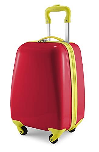 HAUPTSTADTKOFFER - For Kids - valigie per bambini, trolley rigido da viaggio per ragazzi e ragazze, bagaglio a mano, 24 litri