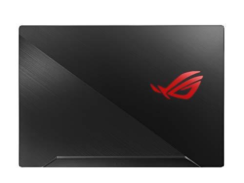 Asus ROG Zephyrus m Thin and Portable Gaming Laptop, 15.6  144Hz Full HD IPS, NVIDIA GeForce GTX 1660 Ti, Intel Core i7-9750H, 16GB DDR4 RAM, 512B PCIe SSD, Per-Key RGB, Windows 10 Pro