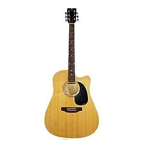 Pluto HW41C-201P Jumbo Cutaway Electro Acoustic Guitar 5