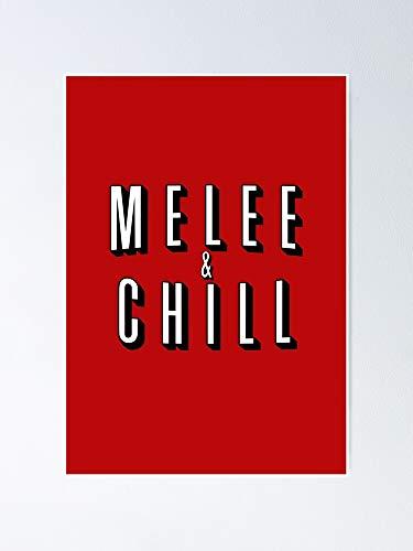 AZSTEEL Melee Chill - Póster