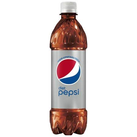 Diet Pepsi Cola, 16 Ounce Bottle (24-Pack)