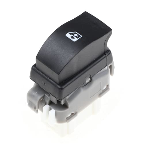 YSAZA Nuevo Interruptor de Control de Ventana Trasera de 6 Pines, para Renault Megane Laguna 2 Espace 4 8200315024 8200476809