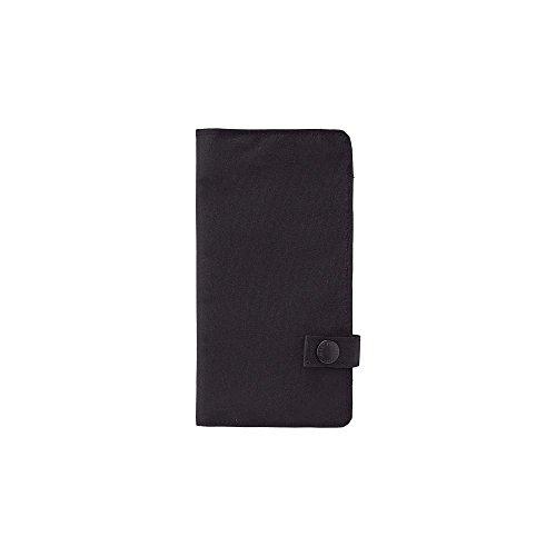 LIHITLAB Slim Pen Case, 7.5 x 4.3, Black (A7585-24) (A-7585-24)