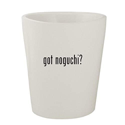 got noguchi? - White Ceramic 1.5oz Shot Glass