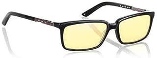 Gunnar Haus Onyx/Amber 高级电脑眼镜,轻质结构HAU-00101