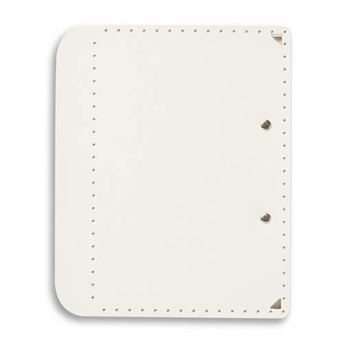 プラス A5サイズにおりたためる A4クリップボード+ ホワイト FL-502CP 【まとめ買い5冊セット】
