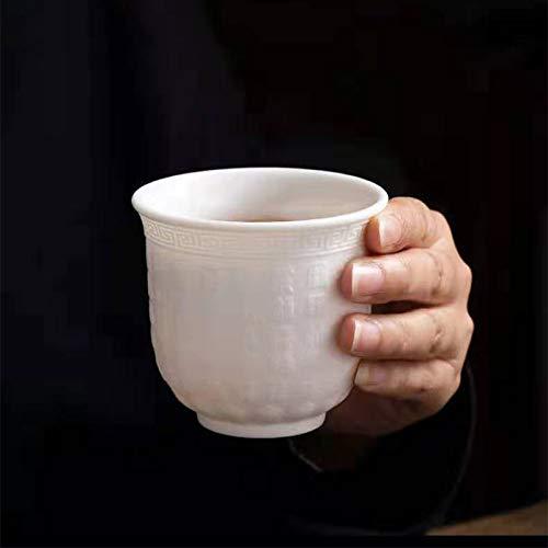 STZLY Portátil Viaje Kungfu Teaware Oficina Hermosa decoración de cerámica taza de té, Capacidad: 140ml Set de té