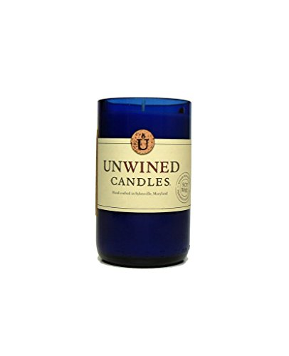 Unwined's Eastern Amber Scented Recycled Wine Bottle Candle - 12 oz Soy Wax