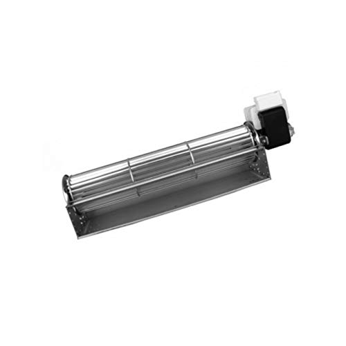 Xodo Store Ventilatore tangenziale Lunghezza Totale: 370 mm, Dimensioni Bocchetta: 304x48 mm, per Stufa a Pellet ECOTECK, EDILKAMIN, KARMEK One, NORDICA EXTRAFLAME, RAVELLI