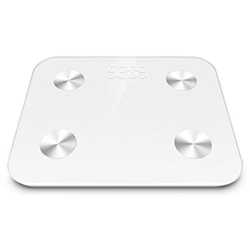 Best Buy! Body Fat Scale, DEWEL Digital Weight Scale Wireless Bluetooth Bathroom Scale 12 Accurate M...