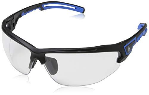 Delta Plus ASO2 - Gafas de policarbonato ahumado AB-AR, 1 pieza