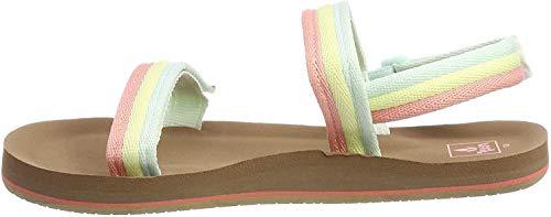 Reef Boy's Girls' Little Ahi Convertible Flip Flops, Multicolour (Rainbow...