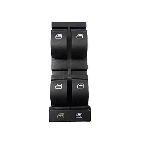 KUANGQIANWEI Power Window Master Switch Fit para Audi A3 A6 C5 RS6 S6 allroad 1998 1999 2000 2001 2002 2003 2004 4B0959851B