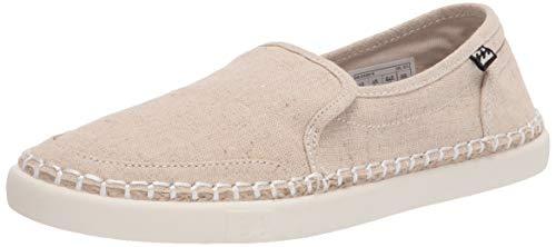 Billabong womens Del Sol Slide Sneaker, Natural, 9.5 US