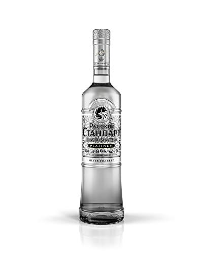 Vodka Russian Standard Platinum - 1 botella de 70 cl