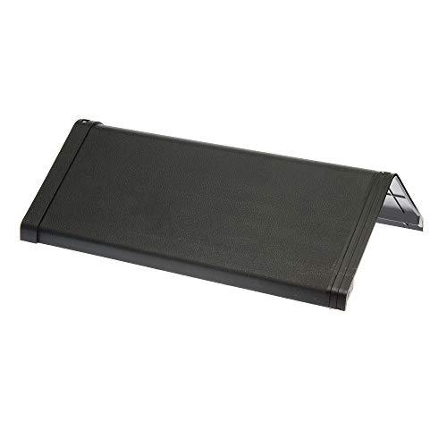 Envirotile Slate Main Ridge Cap - Plastic Roof Tile/Shingles - Anthracite Grey