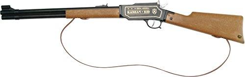 J.G. Schrödel 6119107 - Kansas Kid 100-Schuss auf Tester Gewehr, 73 cm