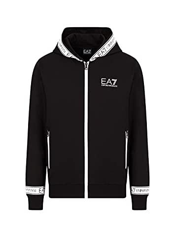 EA7 Emporio Armani U Felpa Cappuccio Full Zip Taglia XXL