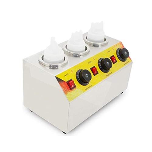Buy Discount GOOG 220v/110v Commercial Electric Hot Sauce Jam Bottle Warmer Chocolate Spread Warmer/...