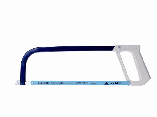 Eclipse 16TND - Seghetto ad arco per metalli con telaio tubolare e impugnatura in alluminio pressofuso