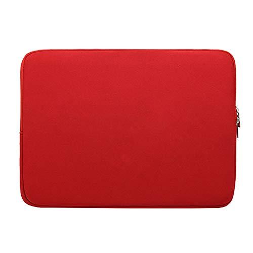 Funda Protectora Antigolpes Ultra Fino para 17' Ordenadores Portátiles Bolso de la Cubierta Caja de Tableta,Rojo 2